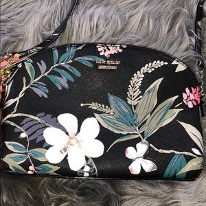Floral authentic Kate spade cross body